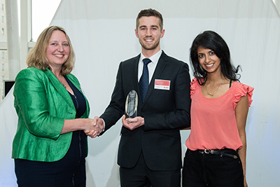 The Engineering Undergraduate of the Year Award sponsored by E.ON