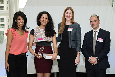 The Female Undergraduate of the Year Award sponsored by Rolls-Royce
