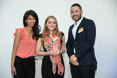 Undergraduate of the Year Award for Innovation sponsored by Deutsche Bank