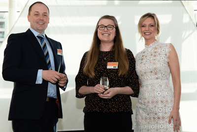 The Construction and Engineering Undergraduate of the Year Award, sponsored by Laing O'Rourke