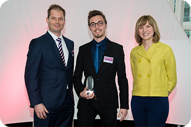 Winner of the Undergraduate of the year for Future CFO