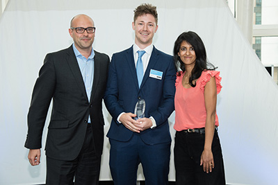 The One to Watch Undergraduate of the Year Award sponsored by First Names Group
