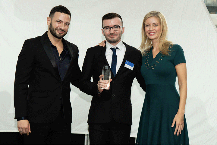 The LGBTQ+ Undergraduate of the Year Award, sponsored by Clifford Chance and National Student Pride