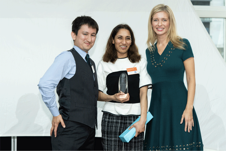 The Undergraduate of the Year Award for Innovation, sponsored by Deutsche Bank