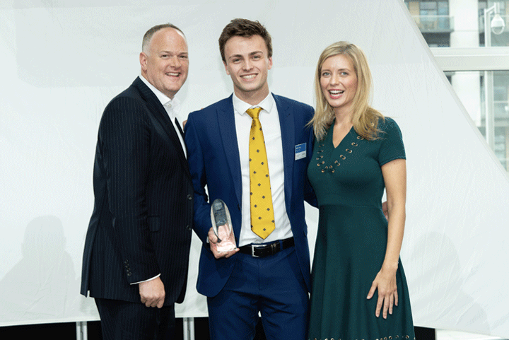 The Male Undergraduate of the Year Award, sponsored by L'Oréal
