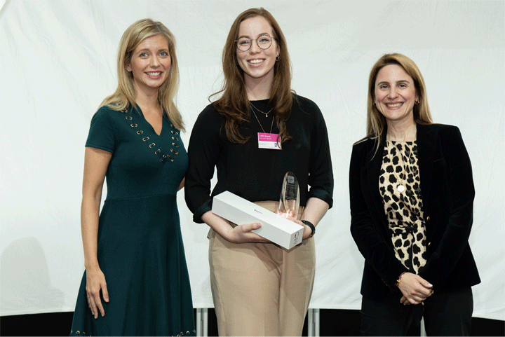The Female Undergraduate of the Year Award, sponsored by Rolls-Royce