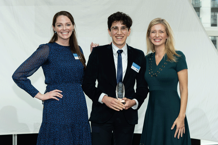 The Computer Science, IT and Physics Undergraduate of the Year Award, sponsored by Visa